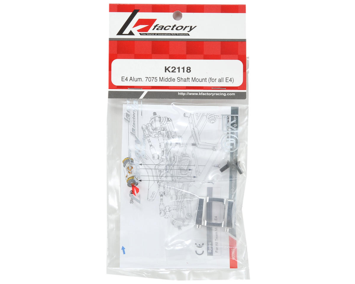 K Factory Aluminum Middle Shaft Mount