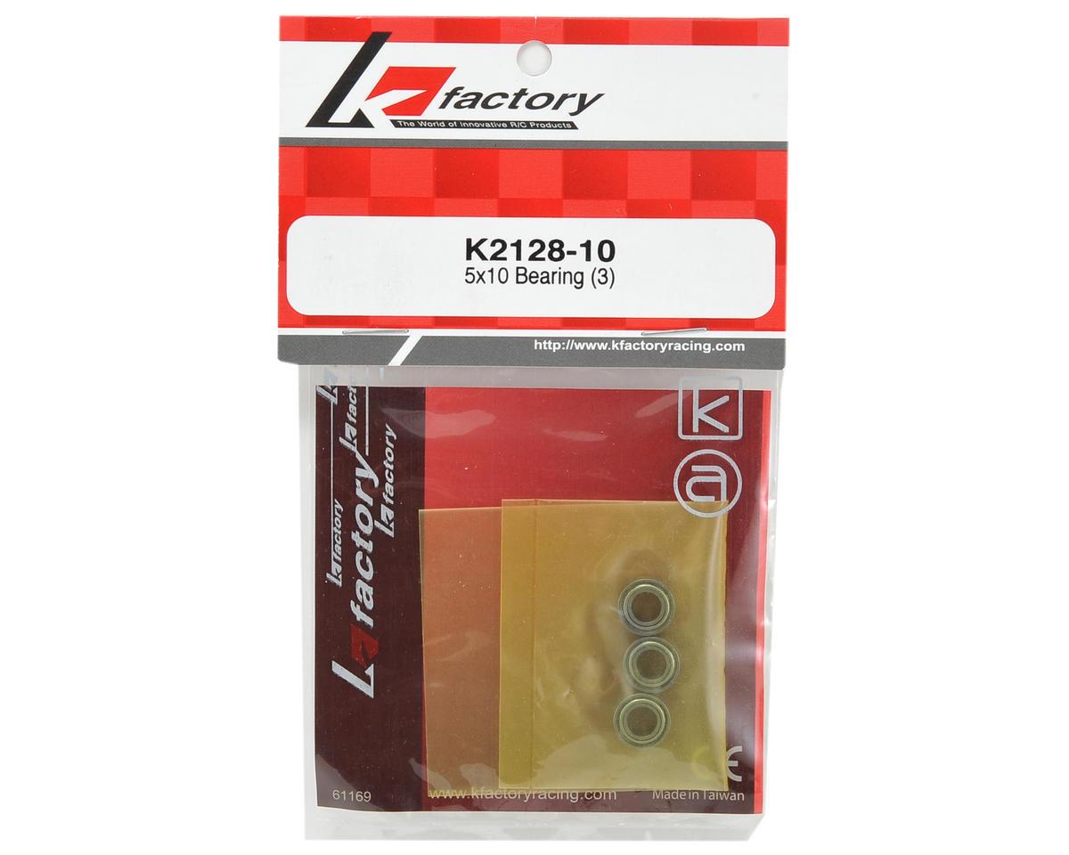 K Factory 5x10mm Counter Steering Conversion Bearing Set (3)