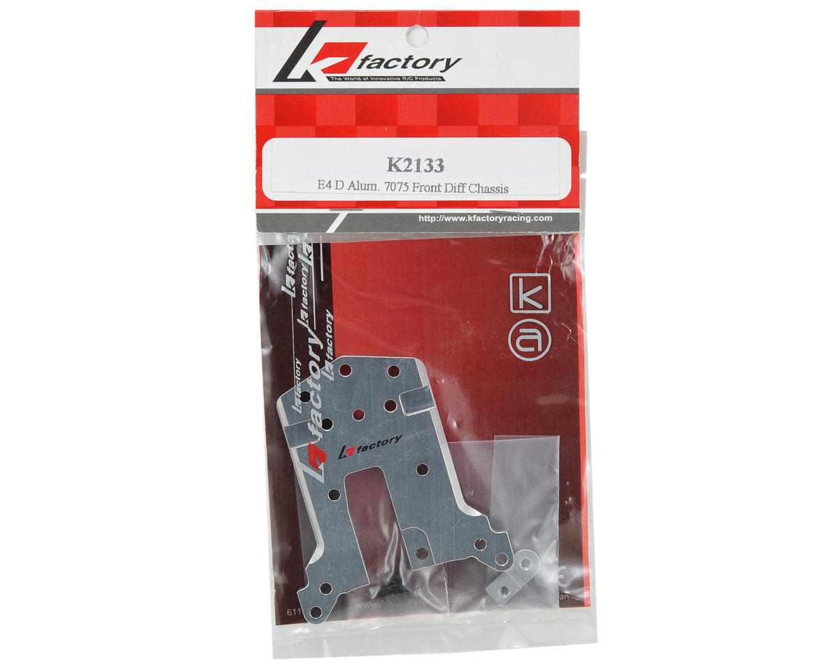 K Factory Aluminum Front Differential Chassis