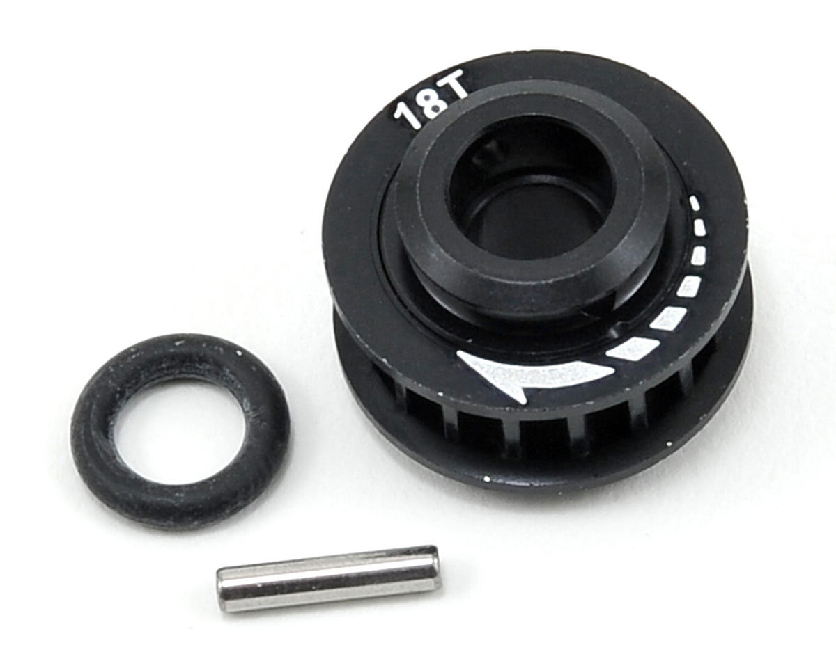 K Factory Aluminum 18T Center Pulley