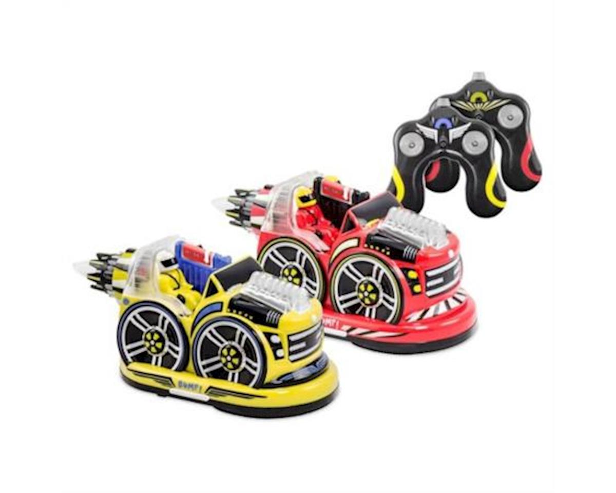 Kid Galaxy RC Bumper Cars 2.4GHz 27A&B w/Light/Sound