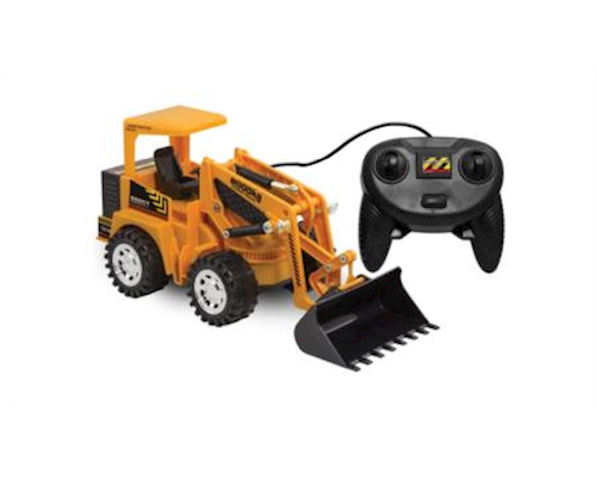 Kid Galaxy 20236 - Remote Control Front Loader Vehicle. 6 Function Construction Toy Tractor
