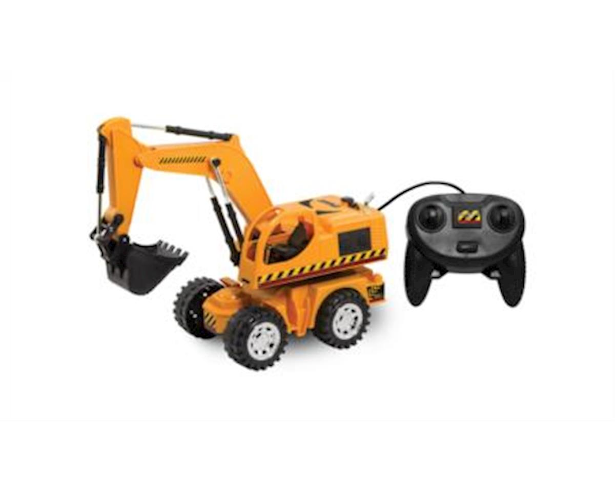 Remote Control Excavator. 6 Function Toy Tractor Digger