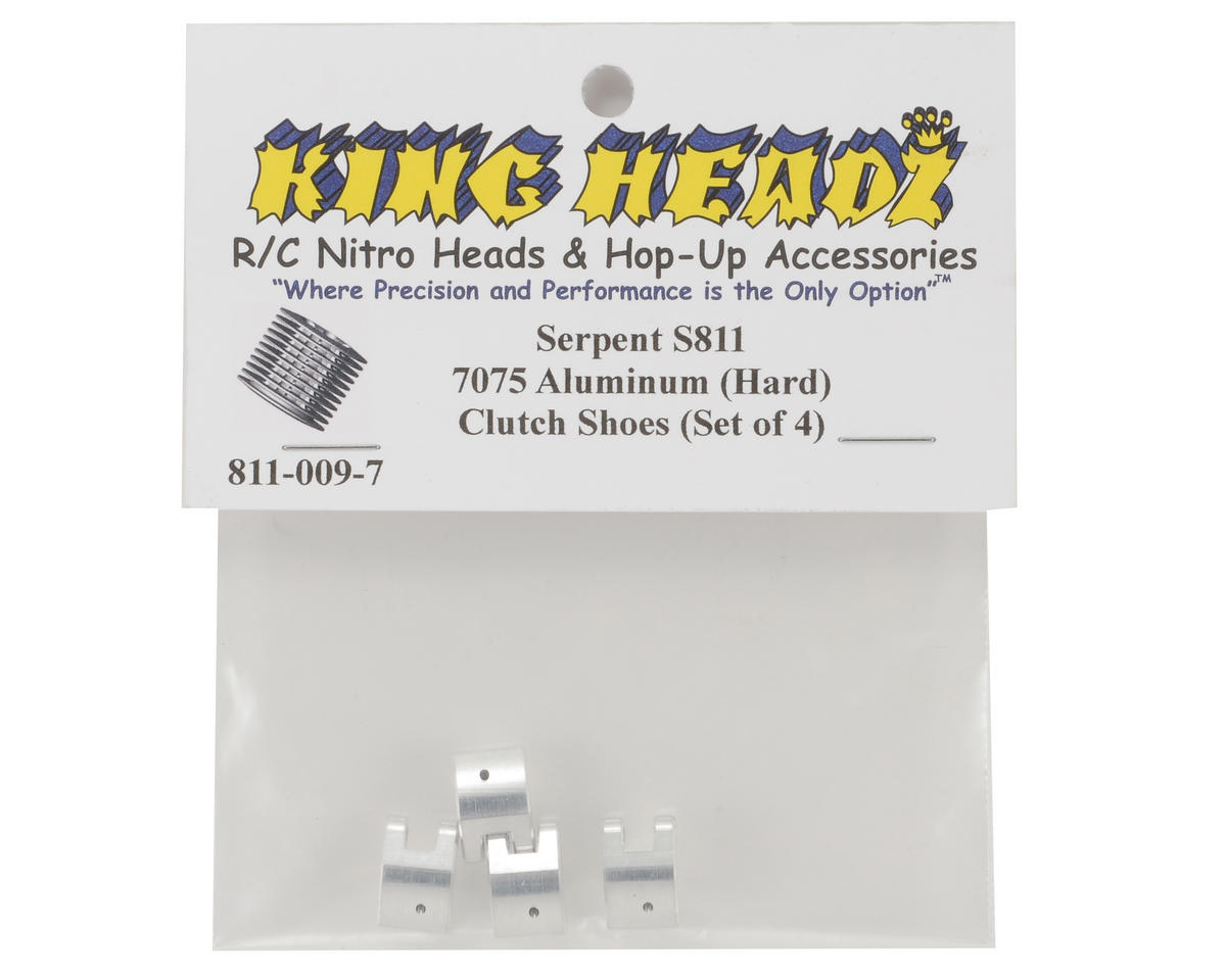 King Headz Serpent S811 7075 Aluminum Clutch Shoe Set (4)