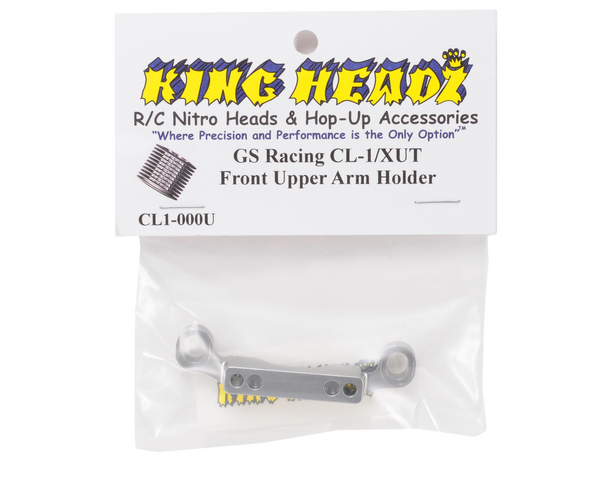 King Headz GS Racing CL-1/XUT EZ Front Upper Arm Holder (Grey)