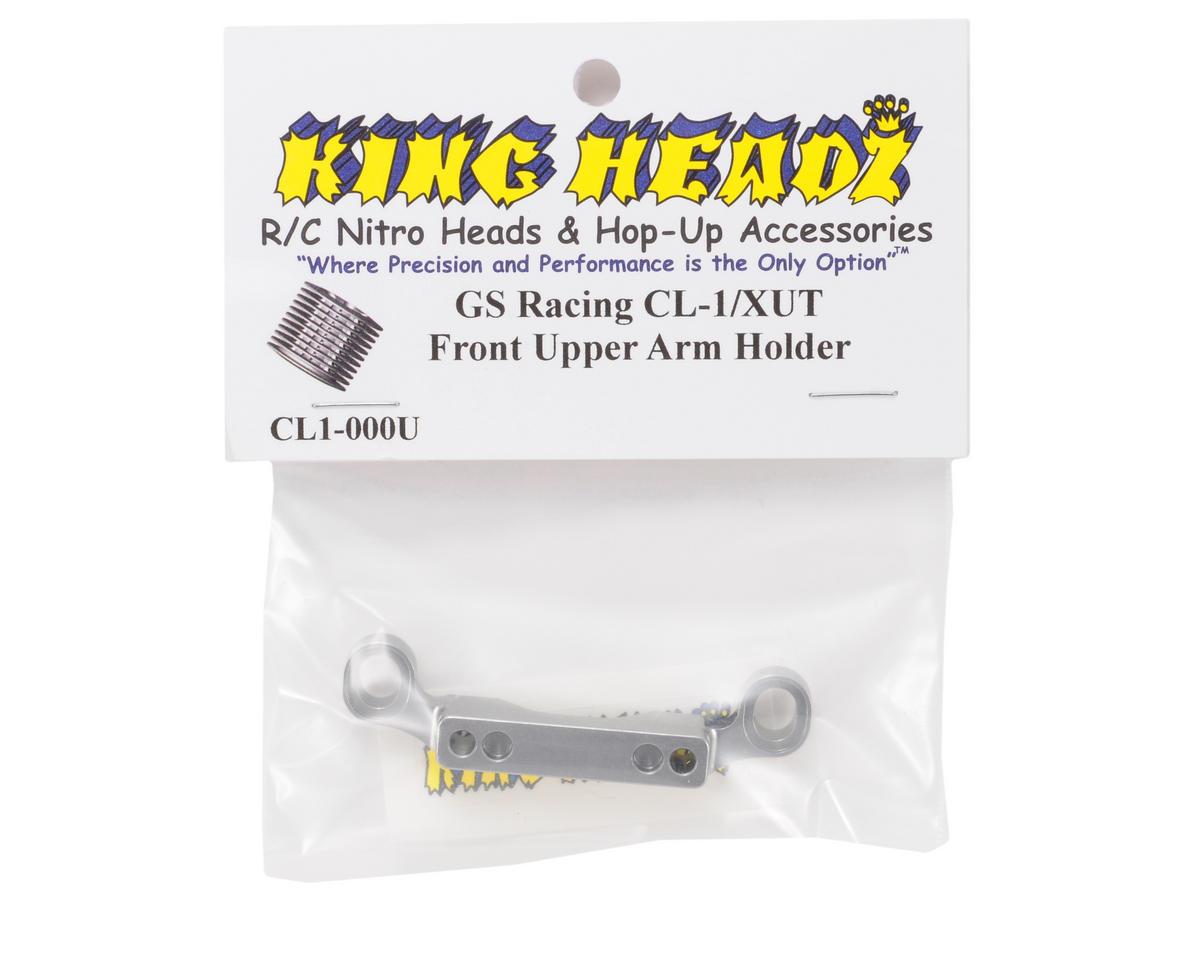 King Headz GS Racing CL-1/XUT EZ Front Upper Arm Holder (Grey)