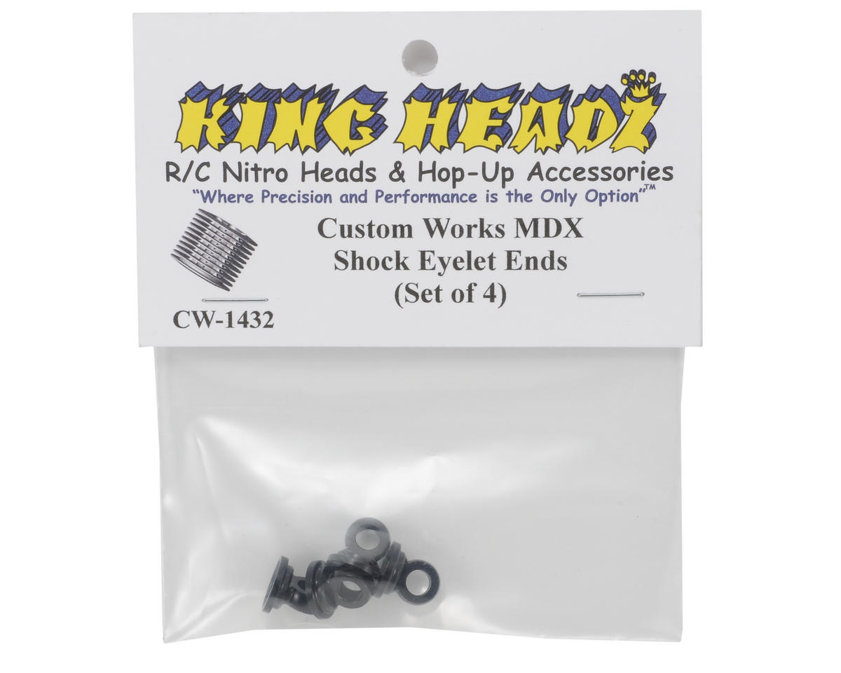 King Headz Custom Works MDX Shock Eyelet End (4)