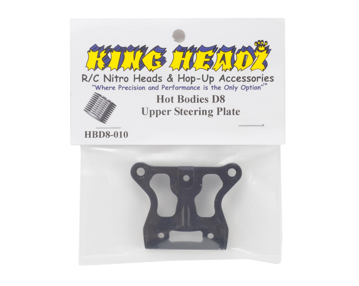 King Headz Hot Bodies D8 Upper Steering Plate