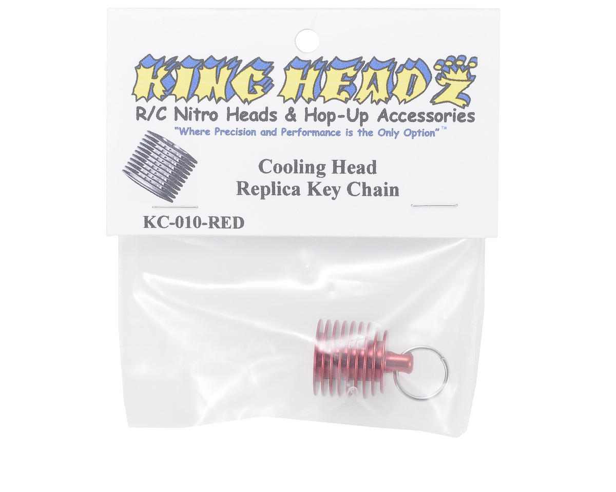 King Headz Key Chain (Red)