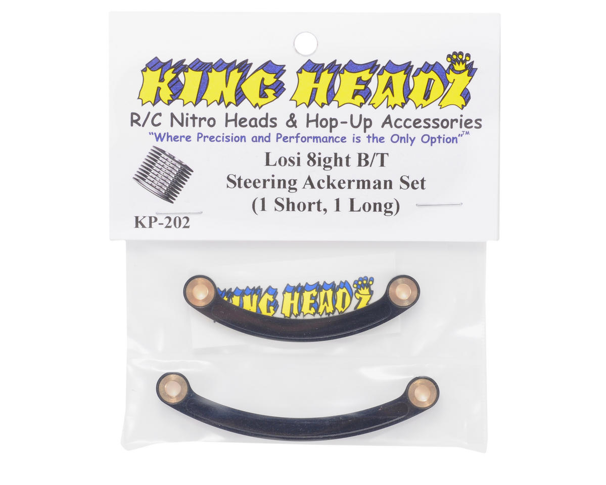 King Headz Losi 8ight B/T Short/Long Ackerman Set