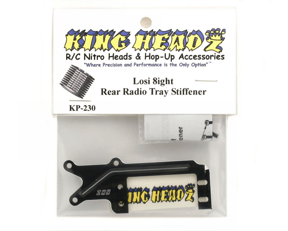 King Headz Team Losi 8ight Rear Radio Tray Stiffener