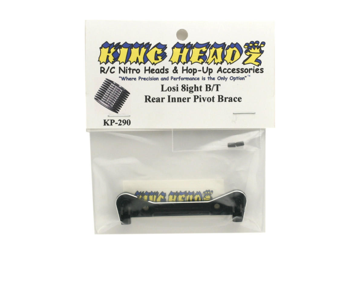 King Headz Team Losi 8ight/8ight-T Rear Inner Pivot Brace