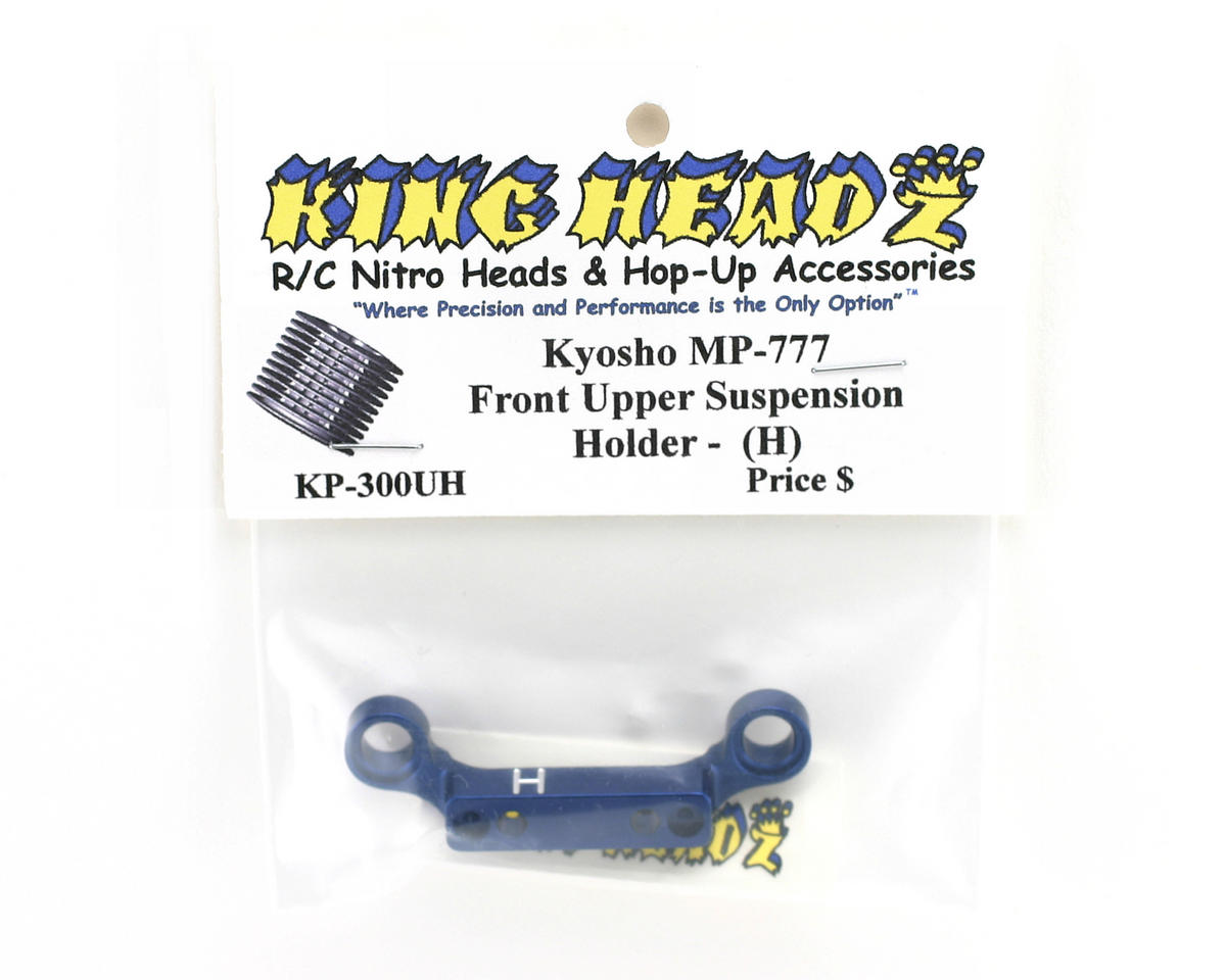 King Headz Kyosho MP777 Front Upper Suspension Holder (H)