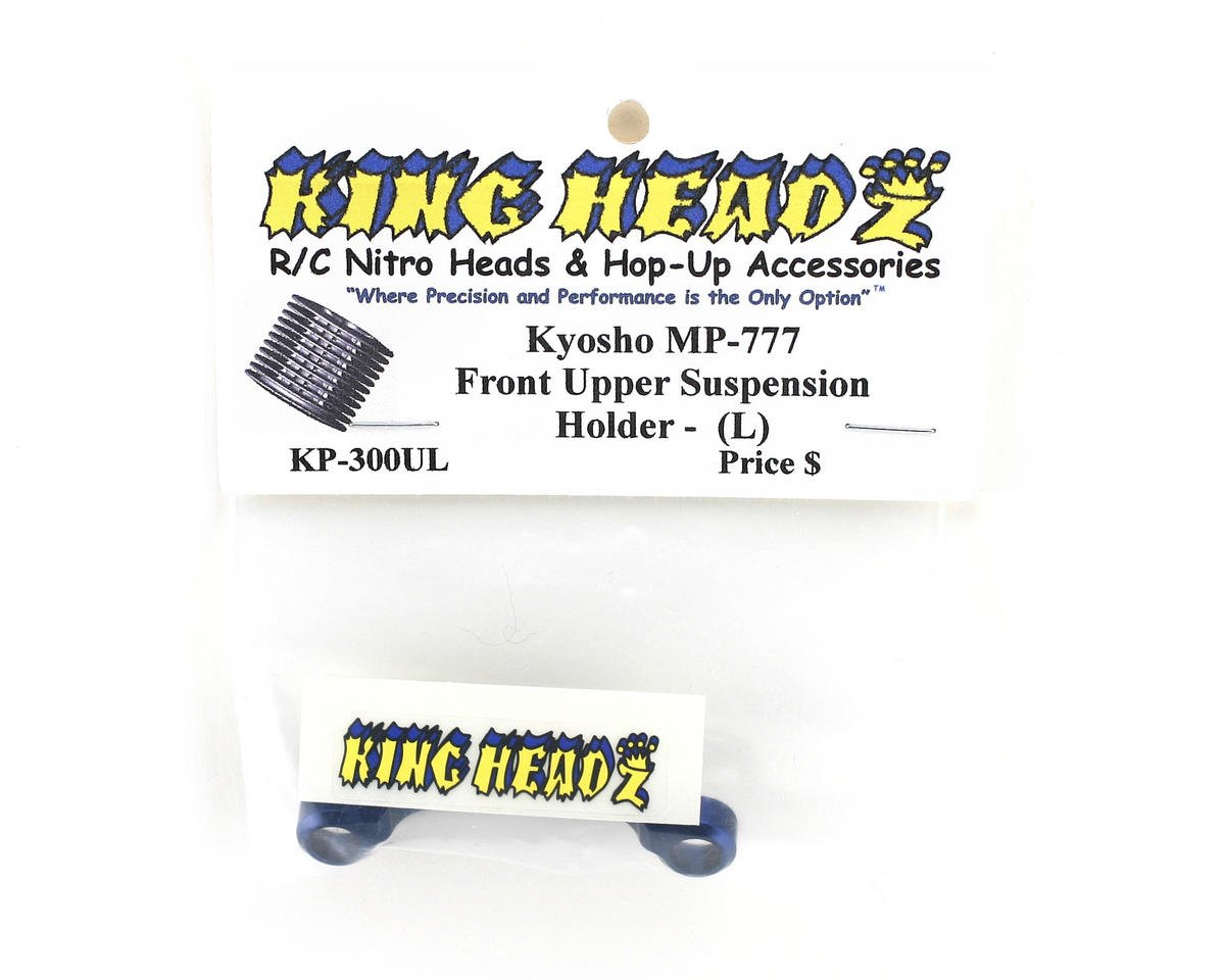 King Headz Kyosho MP777 Front Upper Suspension Holder (L)