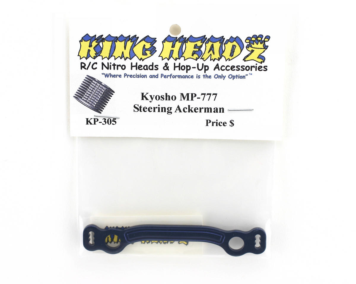 King Headz Kyosho MP777 Steering Ackerman Plate