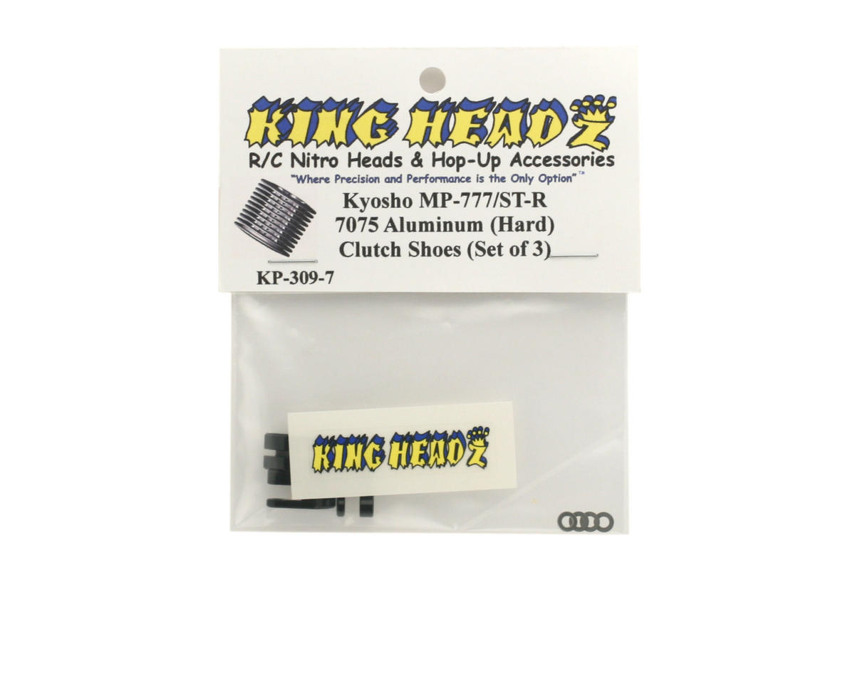 King Headz Kyosho - 7075 Aluminum Clutch Shoe (3)