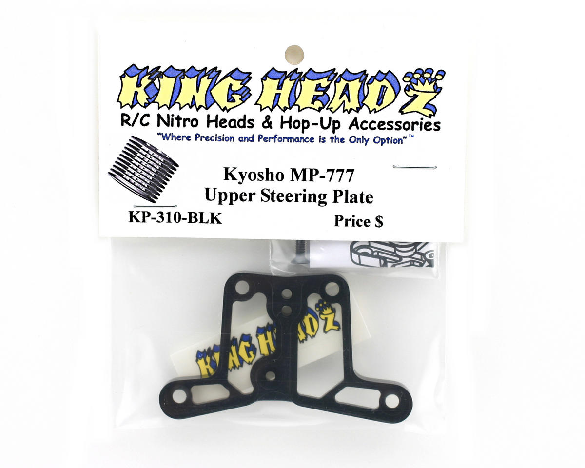 Image 2 for King Headz Kyosho MP777 Steering Upper Plate - Black