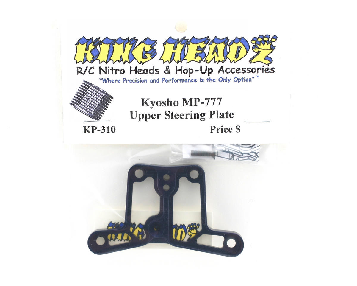 King Headz Kyosho MP777 Steering Upper Plate