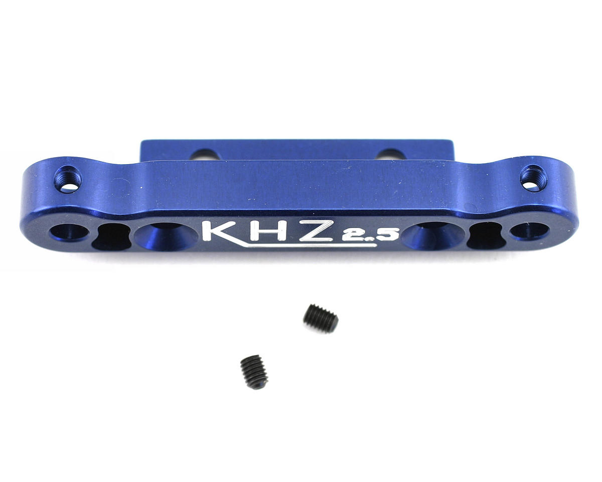 Kyosho MP777 Rear Toe-In Plate (2.5 degree) by King Headz