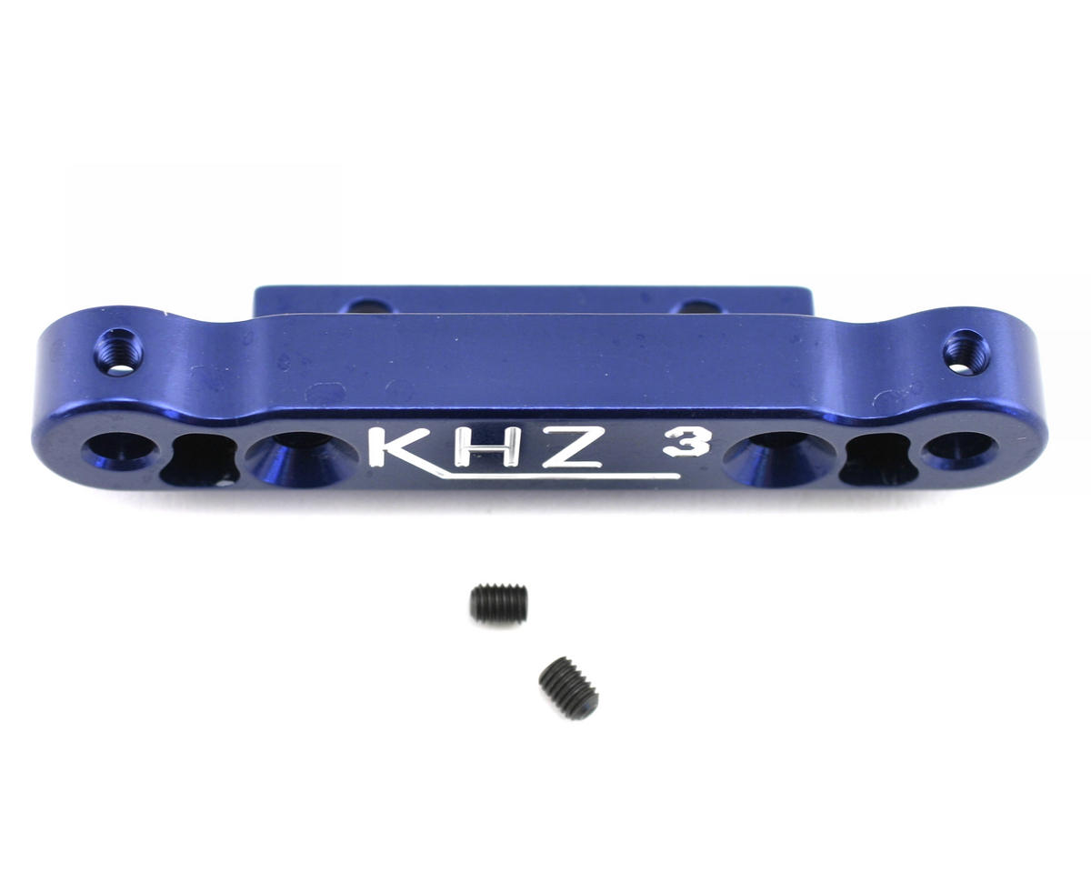 Kyosho MP777 Rear Toe-In Plate (3 degree) by King Headz