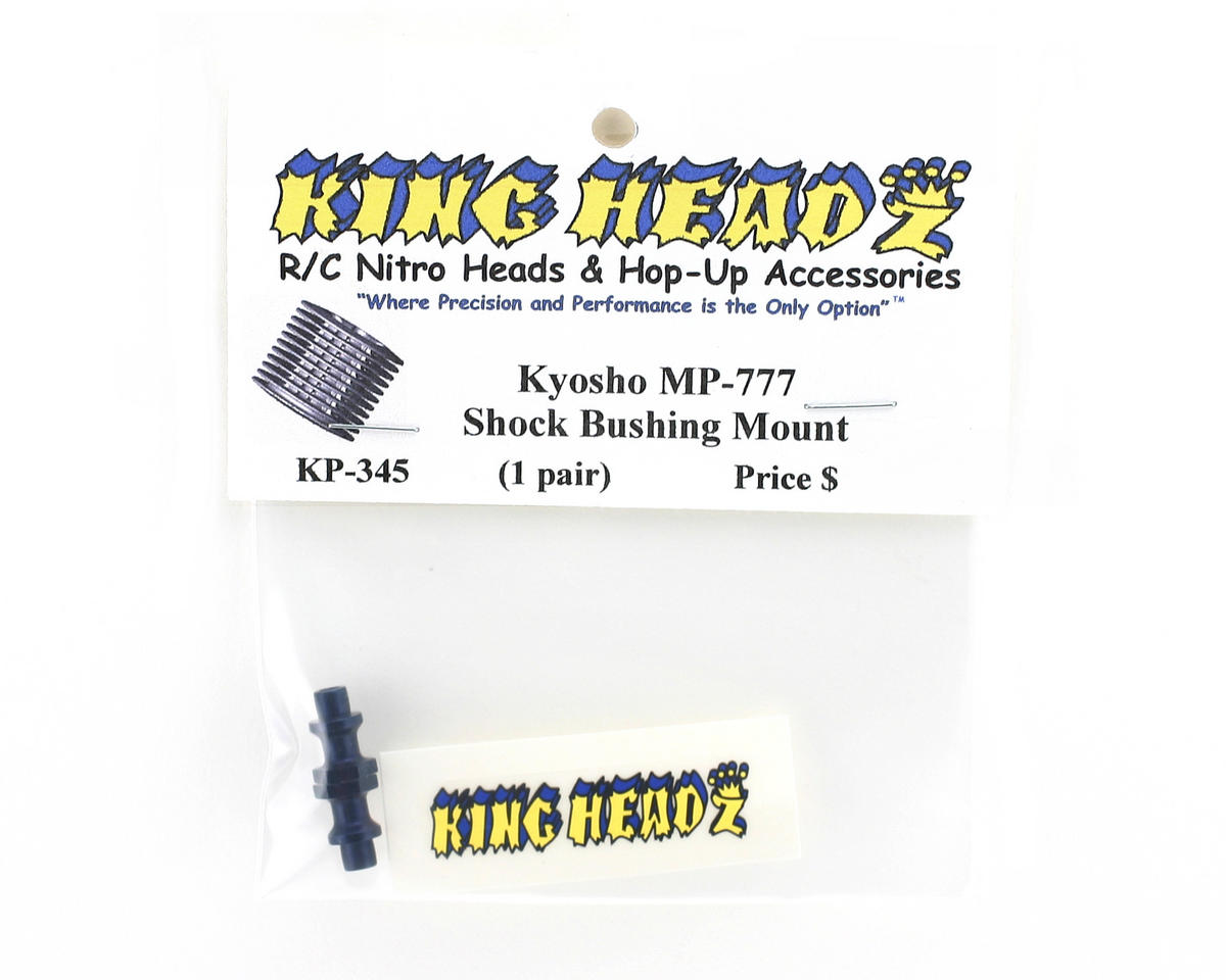 King Headz Kyosho MP777 Shock Bushing Mount (1 pair)