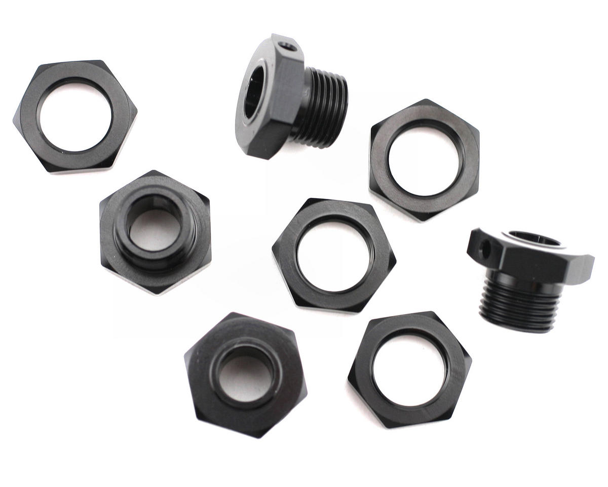 King Headz Kyosho MP-777/ST-R-17mm Wheel Hubs-Standard (Black)
