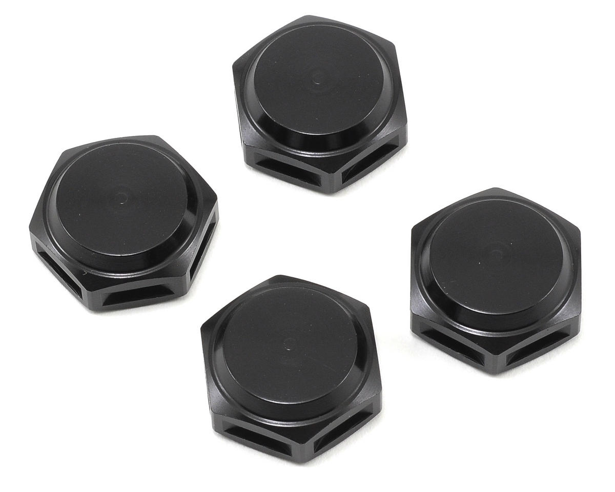 King Headz 17mm Coarse Thread Closed End Wheel Nut (Black) (4) (OFNA Nexx8)