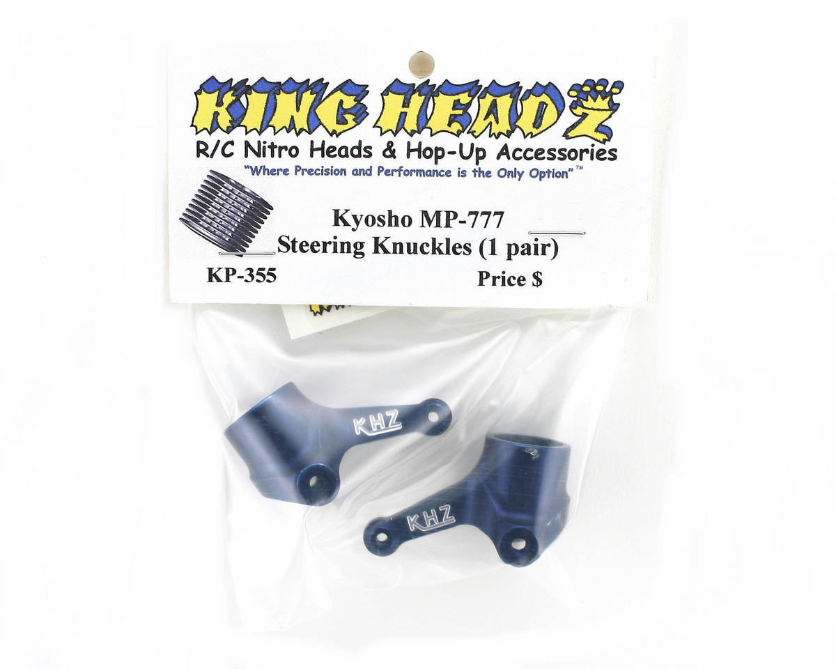 King Headz Kyosho MP7.5/MP777/Hot Bodies Front Steering Knuckles