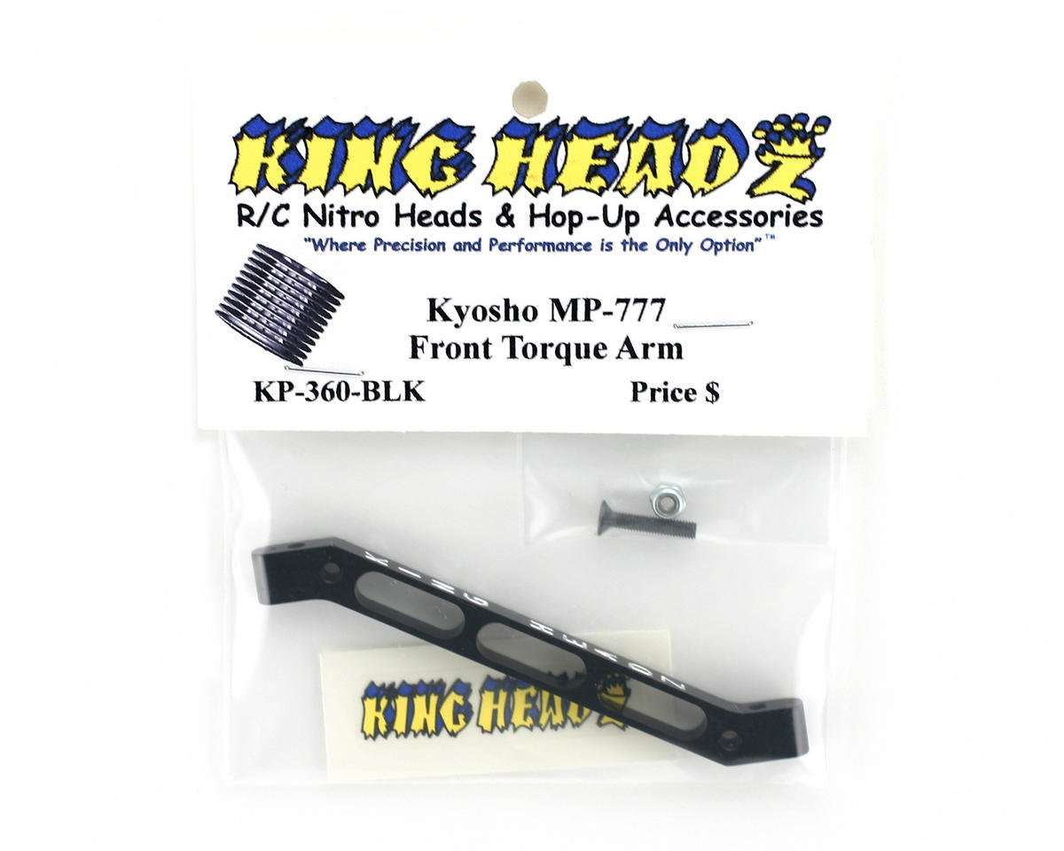 Image 2 for King Headz Kyosho MP777/ST-R Front Torque Arm - Black