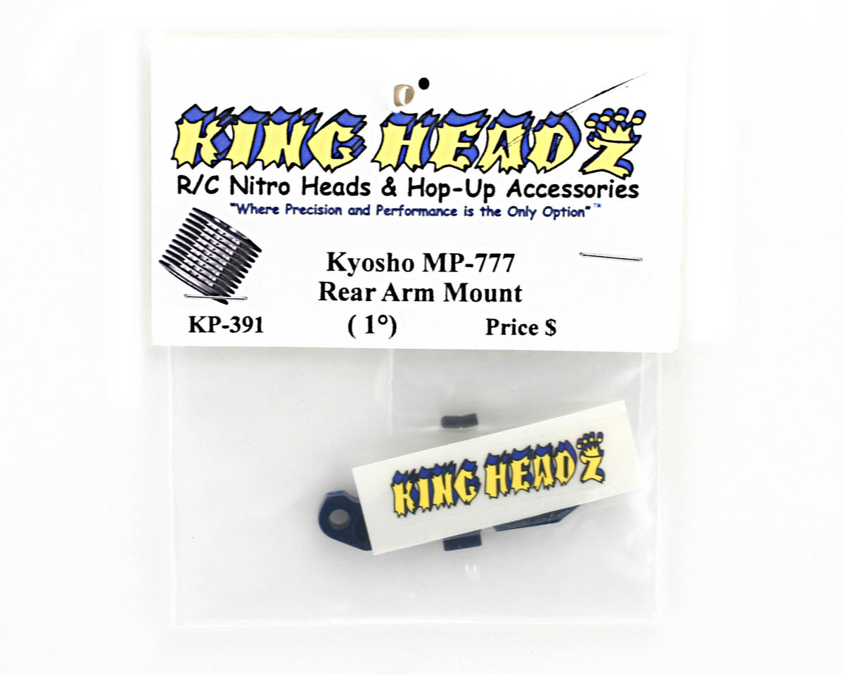 King Headz Kyosho MP777 Rear Arm Mount (1 degree)
