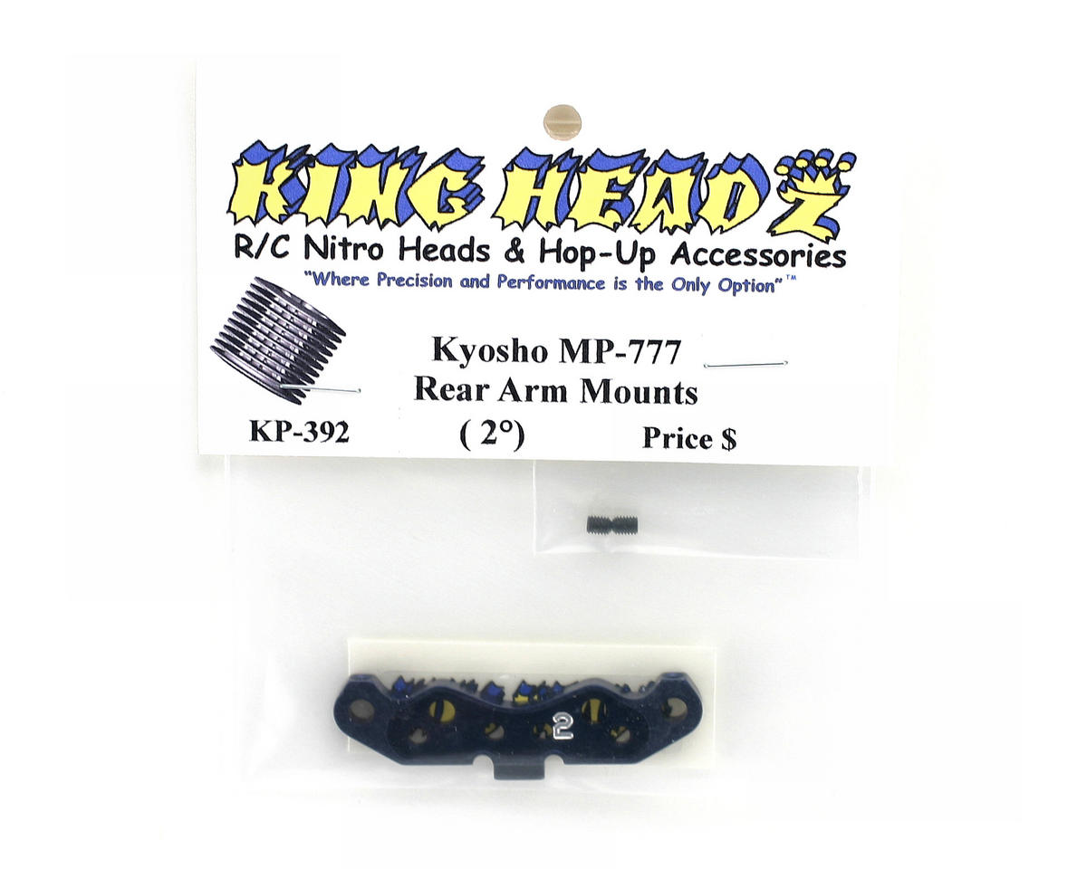 King Headz Kyosho MP777 Rear Arm Mount (2 degree)