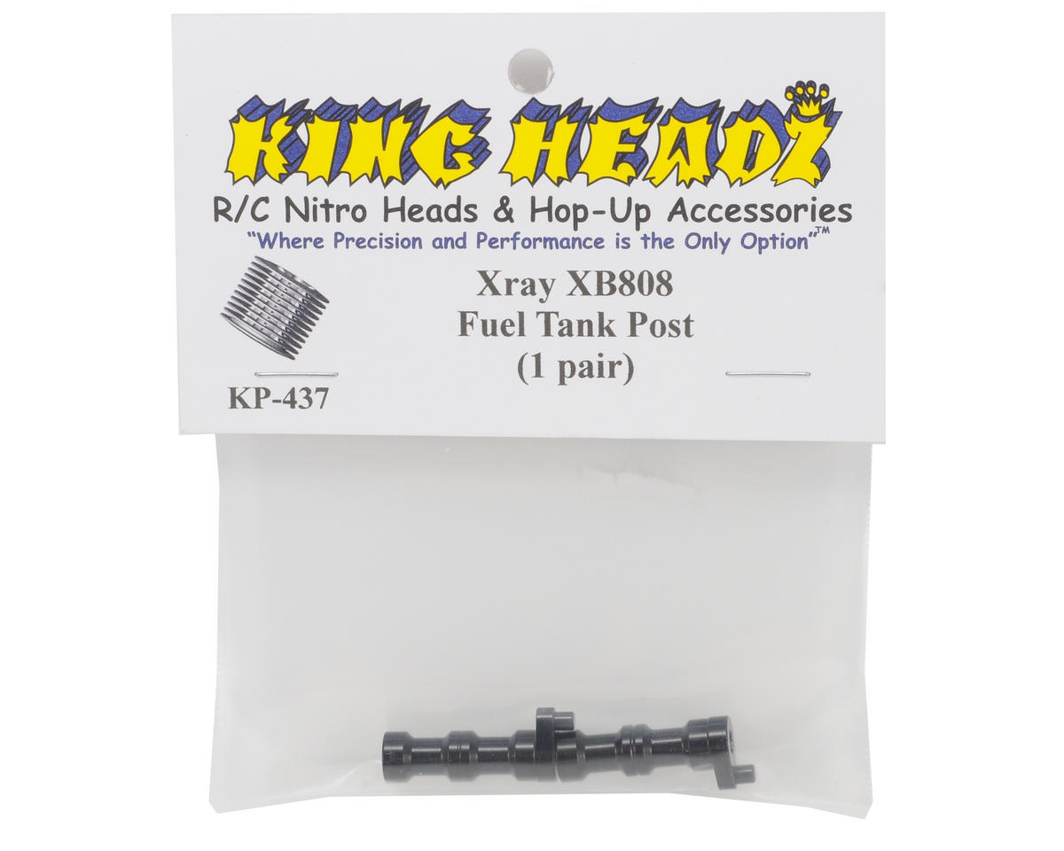 King Headz XRay XB808 Fuel Tank Posts (2)