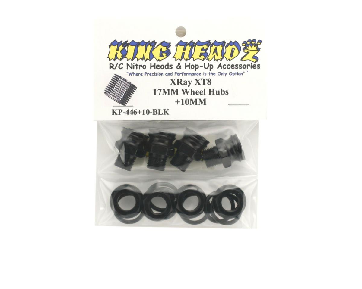 King Headz Xray XB8-T 17mm Wheel Hubs (+10mm)