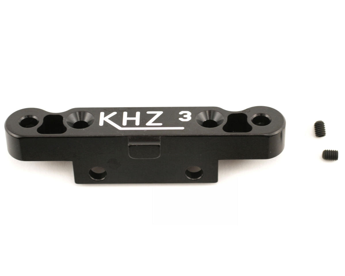 King Headz Mugen MBX5 Rear Toe-In Plate (3°) (Black)