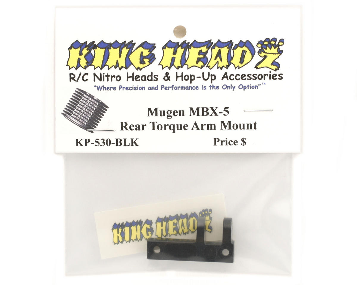 King Headz Mugen MBX5 Rear Torque Arm Mount (Black)