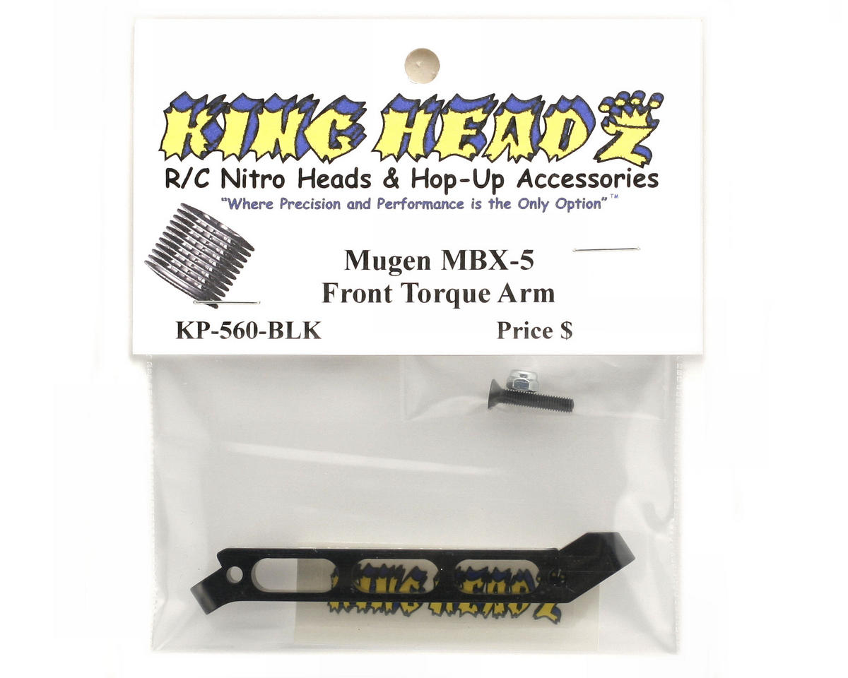 King Headz Mugen MBX5 Front Torque Arm (Black)