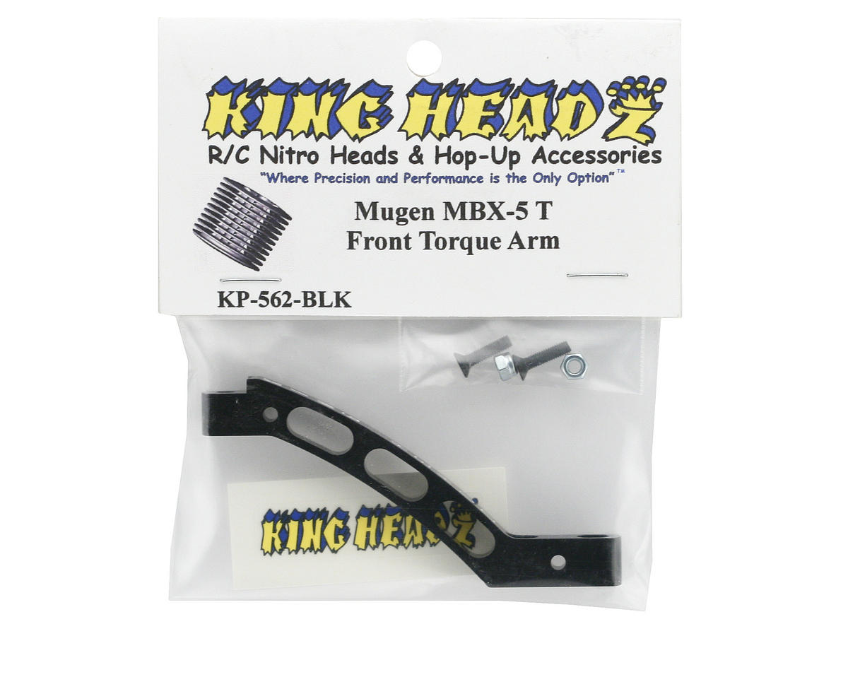 King Headz Mugen MBX-5T Front Torque Arm - Black