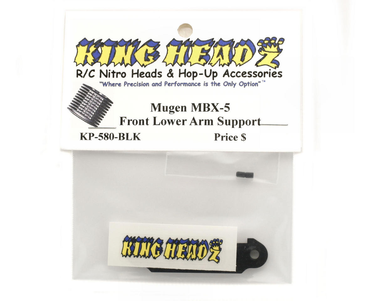 King Headz Mugen MBX5 Front Lower Suspension Plate (Black)