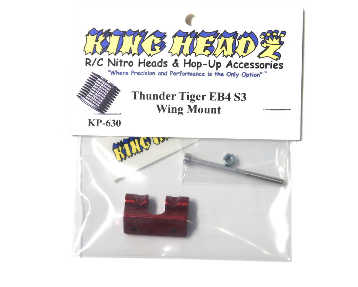 King Headz Thunder Tiger EB4 S3 Wing Mount (Red)