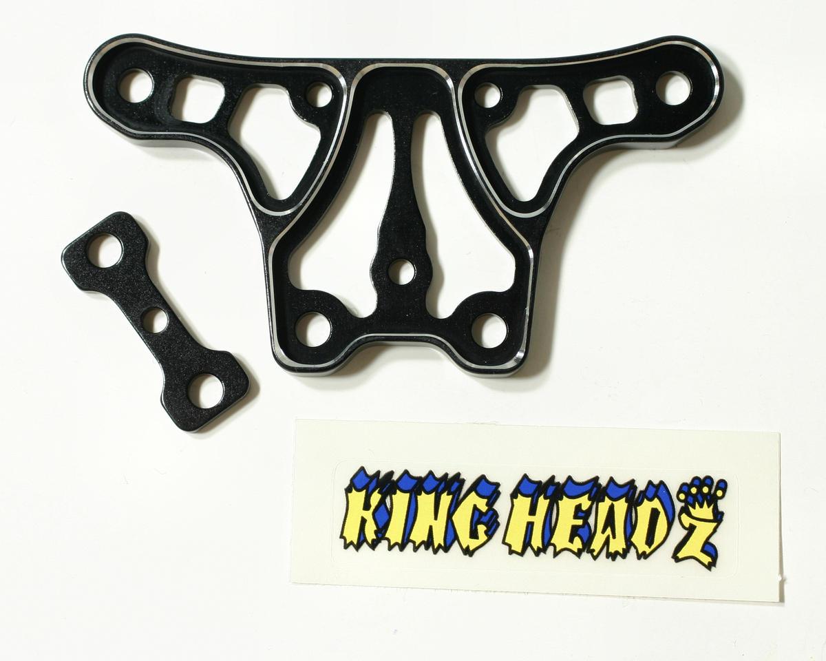 King Headz Jammin X1-CR/X1-CRT Upper Steering Plate (Black)