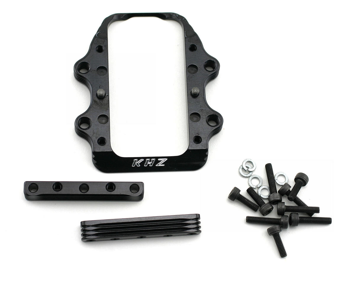 King Headz Jammin X1-CR/X1-CRT Extended Motor Mount - Most Engines (Black)