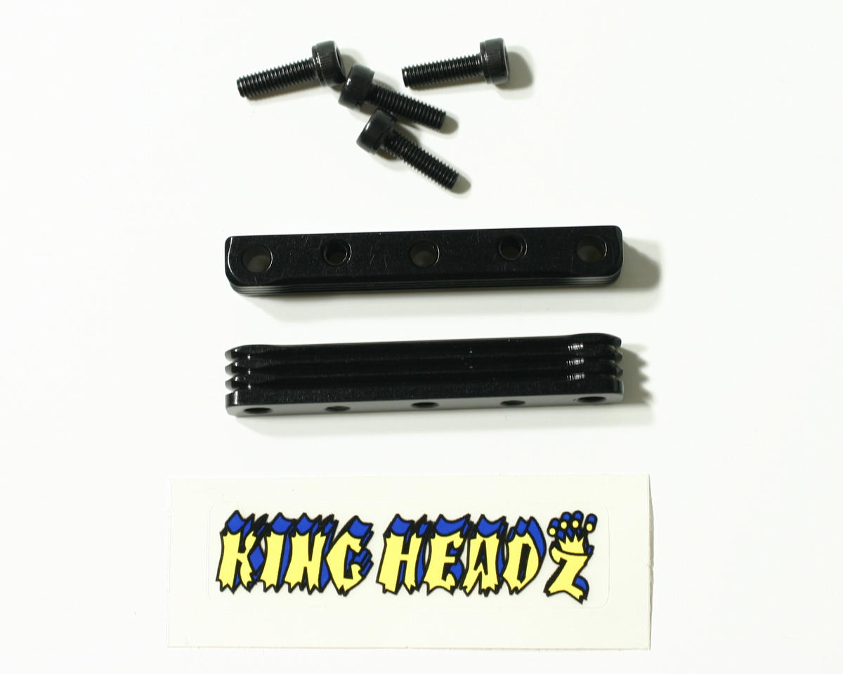 Quick Change Motor Mount Top Plate (Black) by King Headz