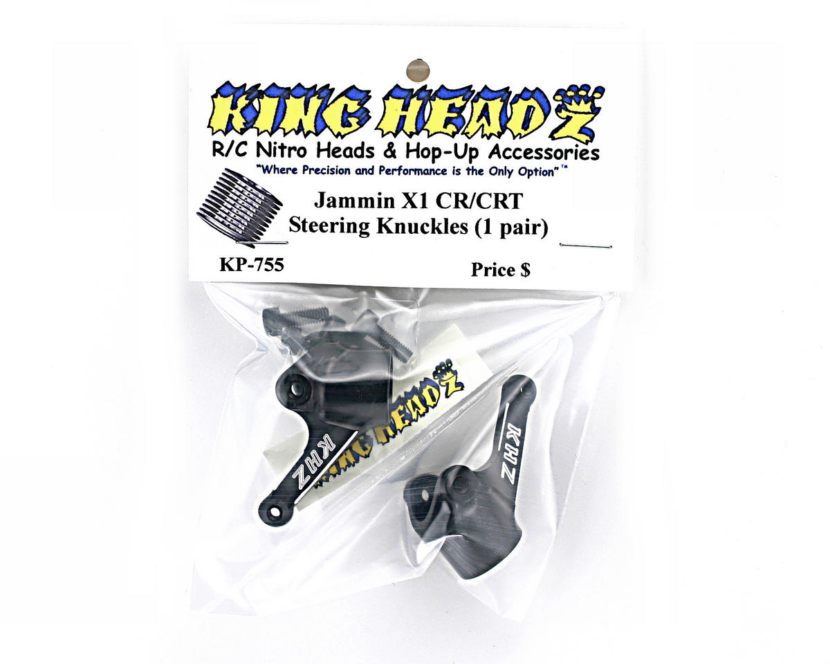 King Headz Jammin X1-CR/CRT Front Steering Knuckles