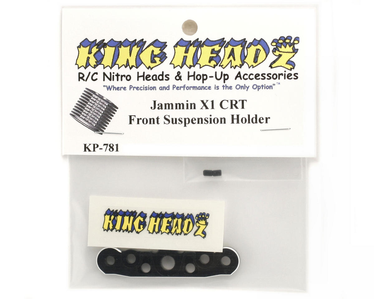 King Headz Jammin X1-CRT Front Lower Suspension Plate