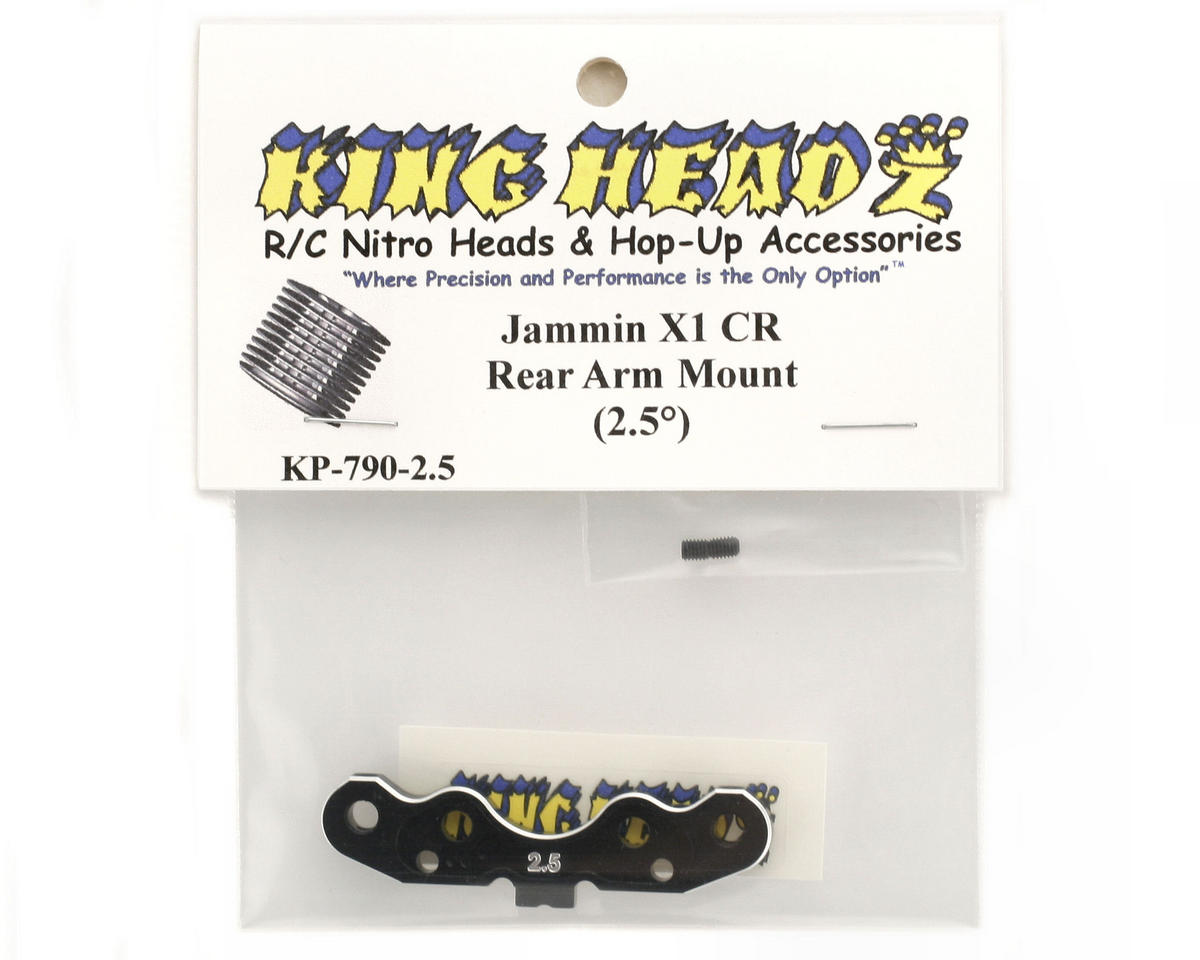 King Headz Jammin X1-CR Rear Arm Mount (2.5°)