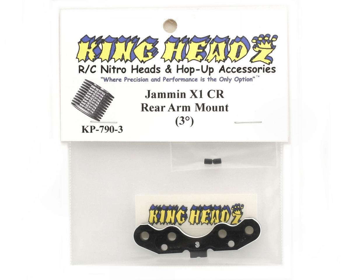 King Headz Jammin X1-CR Rear Arm Mount (3°)
