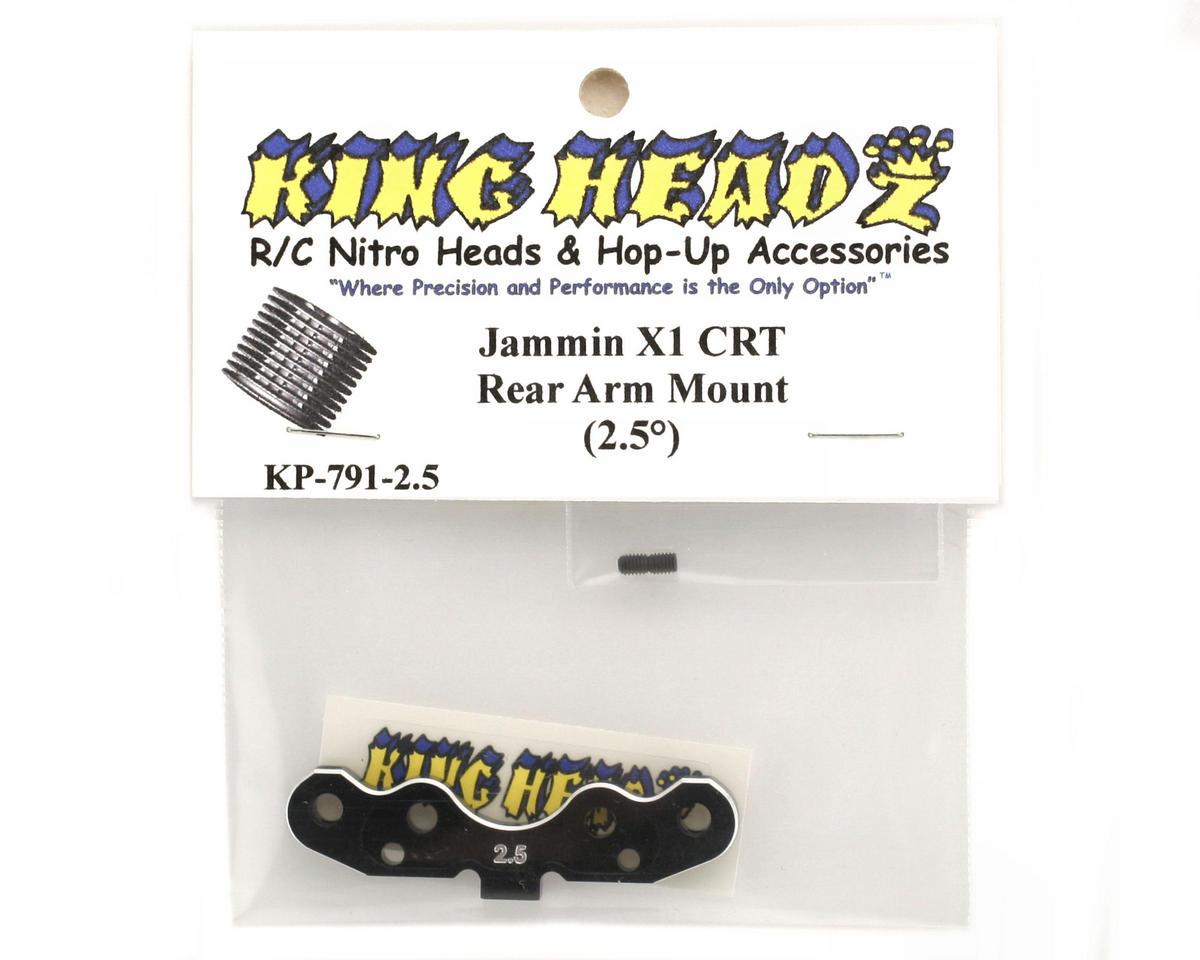 King Headz Jammin X1-CRT Rear Arm Mount (2.5°)