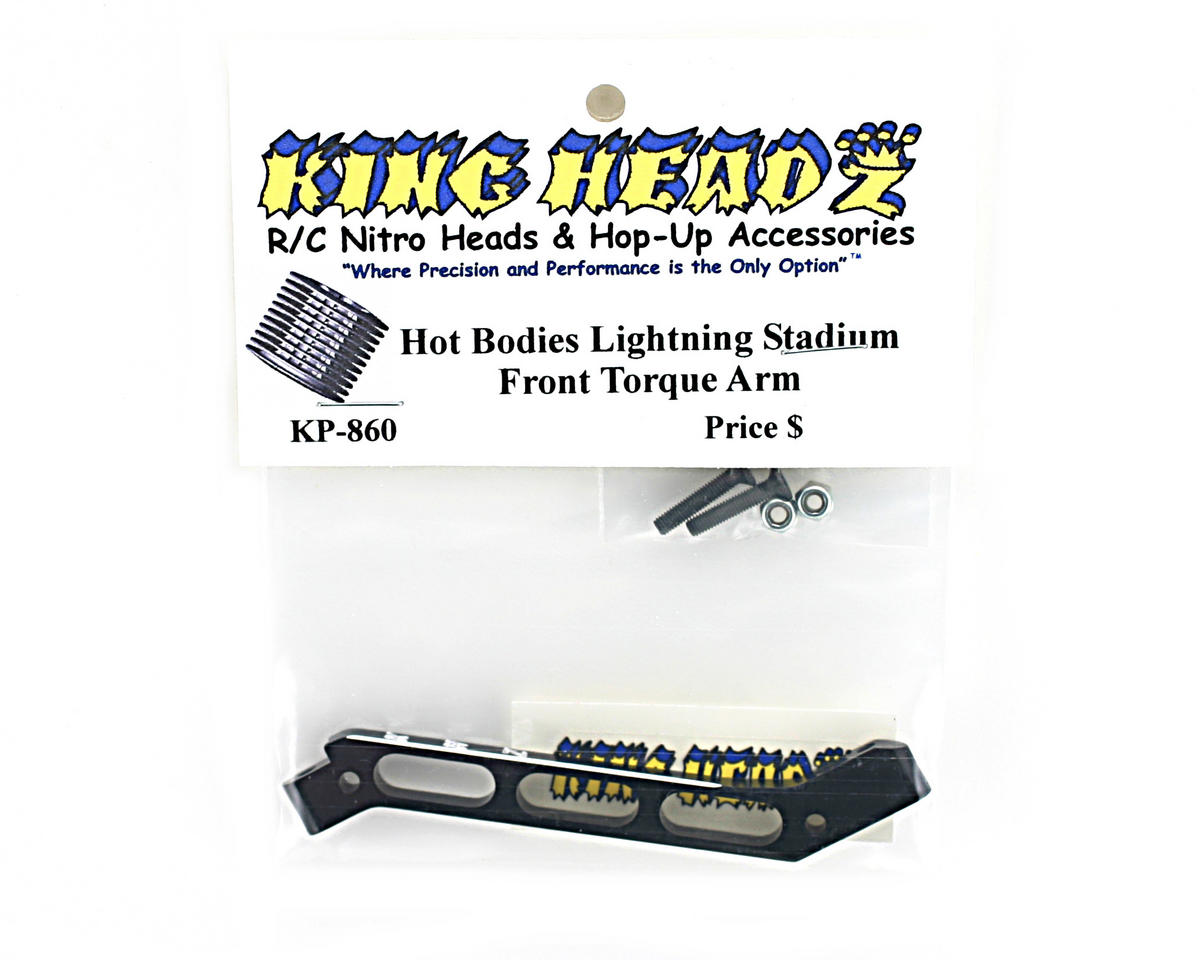 King Headz Hot Bodies Lightning Front Torque Arm (Black)