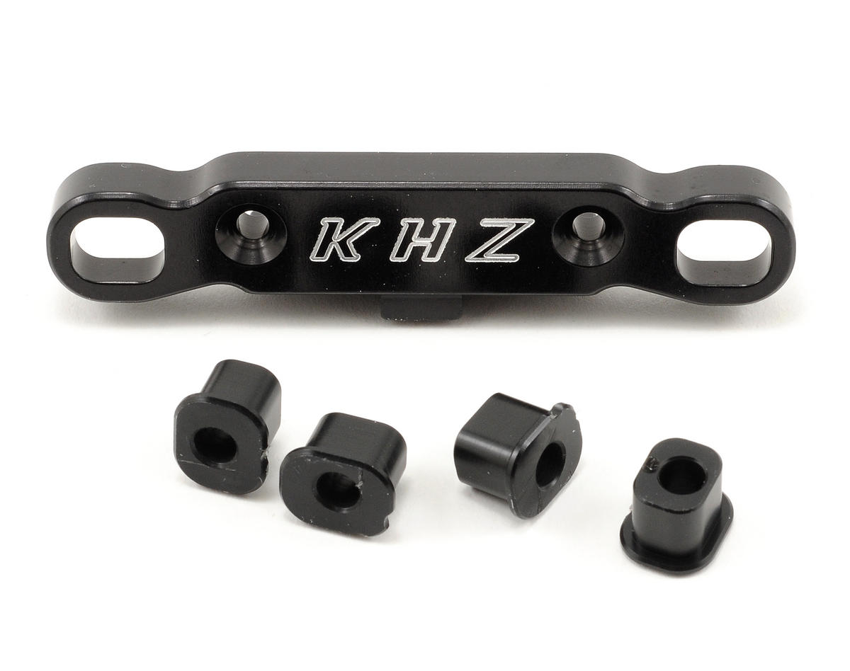 King Headz Mugen 6/6T Rear Toe-In Plate w/Delrin Bushings (2.5°/2.75°/3°)