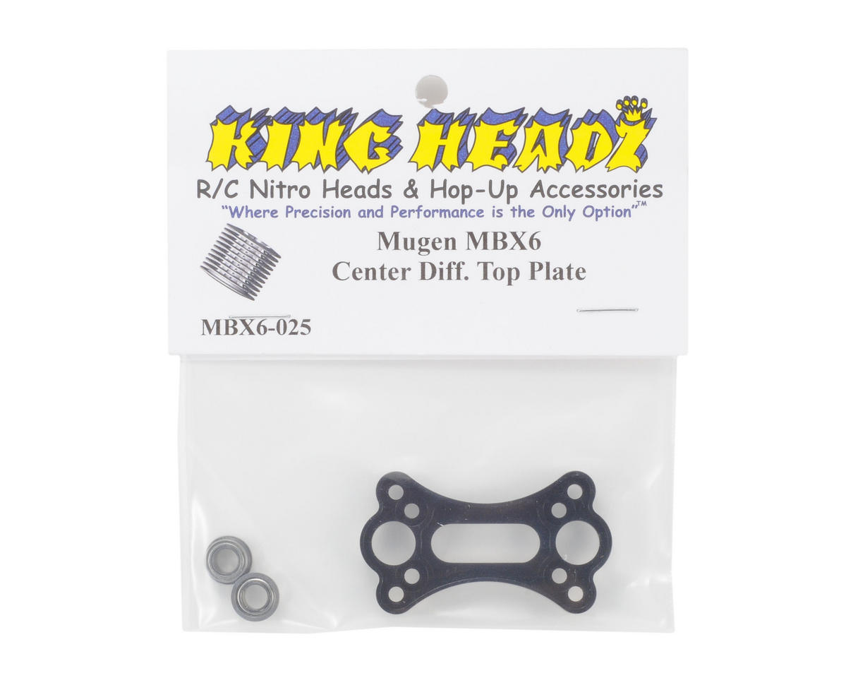 King Headz Mugen MBX6 Center Diff Top Plate
